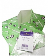 Hallmark football wrap & tags (Code 3604)